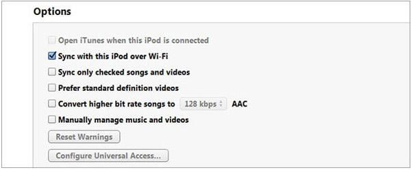 iPod Wi-Fi