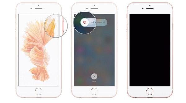 uruchom ponownie iPhone'a w zwykły sposób