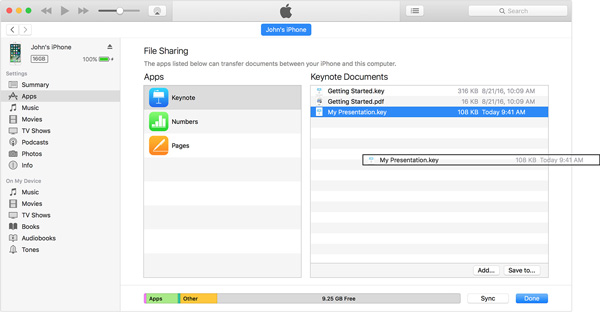 копировать файлы с iphone на компьютер