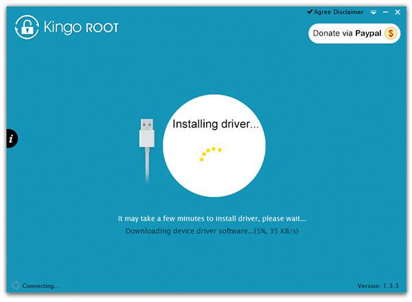 PC上のKingoRoot