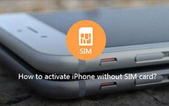 Ενεργοποιήστε το iPhone χωρίς την κάρτα SIM