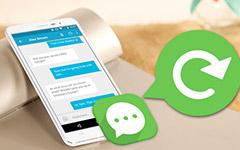 Sikkerhetskopiering av tekstmeldinger av Android