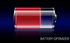 Aplicativos do Battery Optimizer