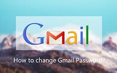 Changer le mot de passe Gmail