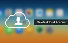حذف حساب iCloud