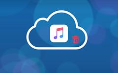 Zeneszámok törlése iCloud-ból