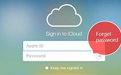 Zapomenuté heslo iCloud