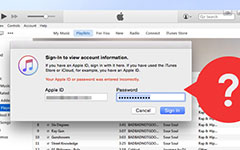 Nulstil iTunes Password