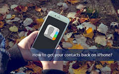 Get Your Contacts Back on iPhone