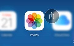 استخدم iCloud مشاركة الصور