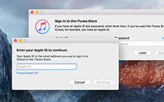 Reimpostazione password iTunes