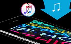 Umístit hudbu do iPhone