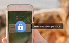 Réinitialiser le code de restriction sur iPhone