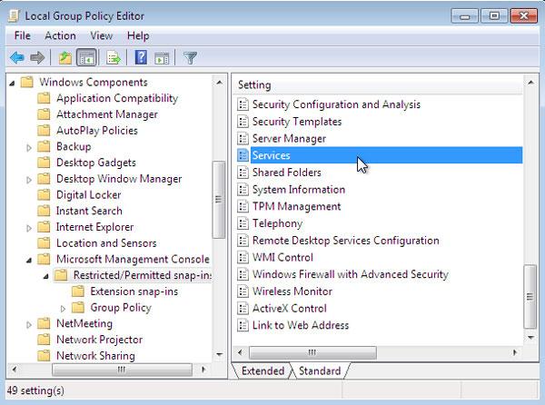 riavviare il servizio di installazione di Windows