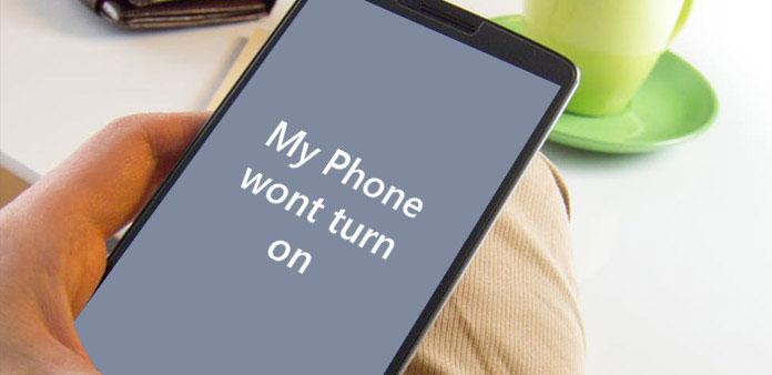 Min telefon slår inte på