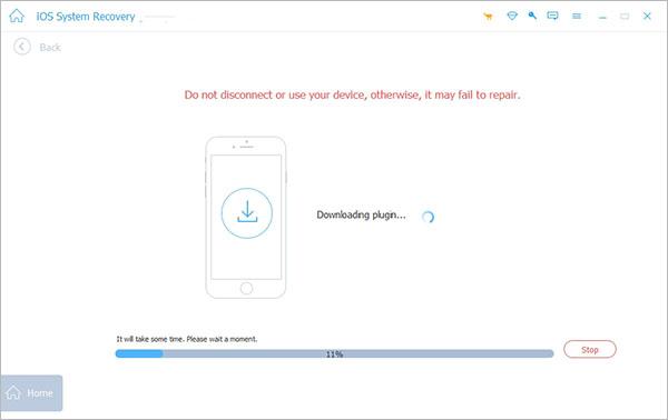 Reparar iOS