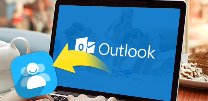 Экспорт контактов Outlook в Excel / CSV