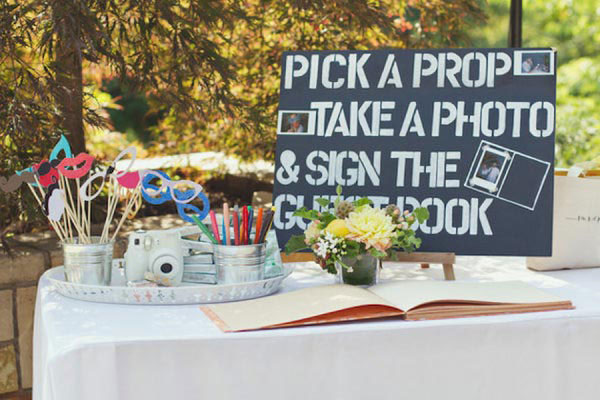 Diy Wedding Booth