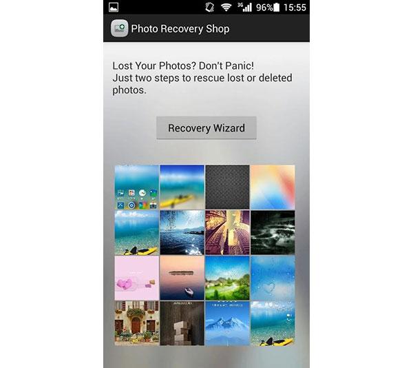 Loja de Recuperação de Fotos