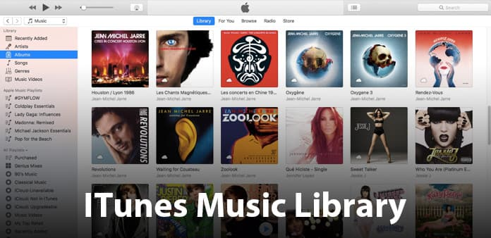 Reconstruir a biblioteca do iTunes para o seu iPhone