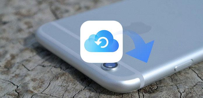 Gjenopprett iPhone fra iCloud