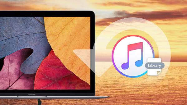 استعادة مكتبة iTunes