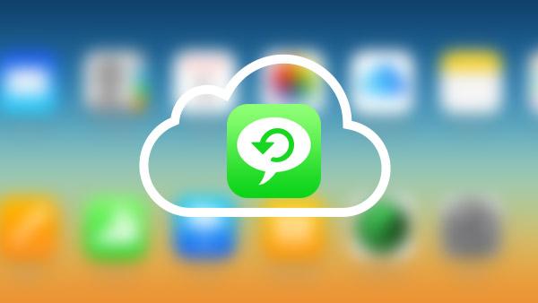 Načíst textové zprávy iCloud