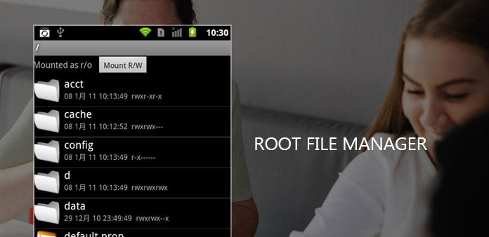 Root File Managers för Android