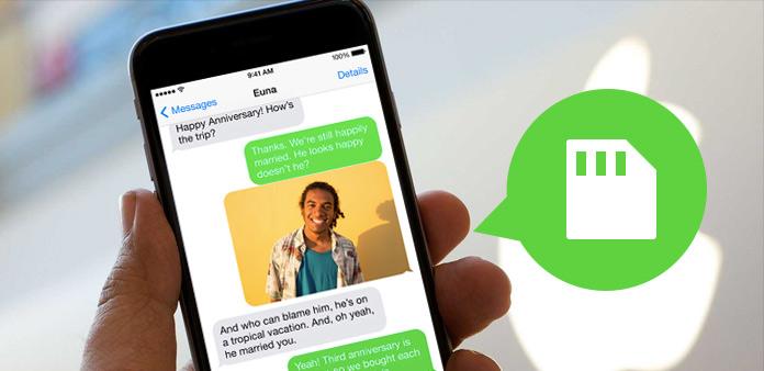 Ukládání textových zpráv v iPhone jako zálohování