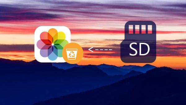Obnovit odstraněné obrázky z karty SD