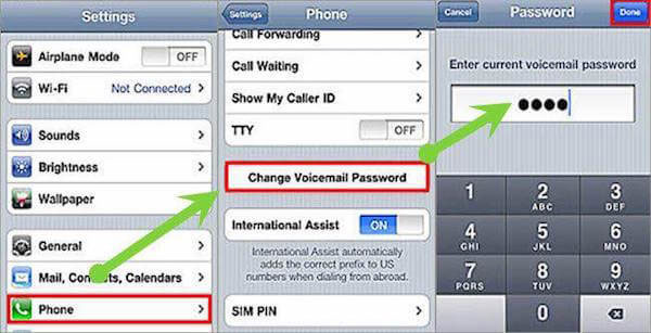 Fejlfinding Voicemail