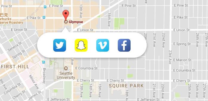 Compartilhar minha localização no iPhone