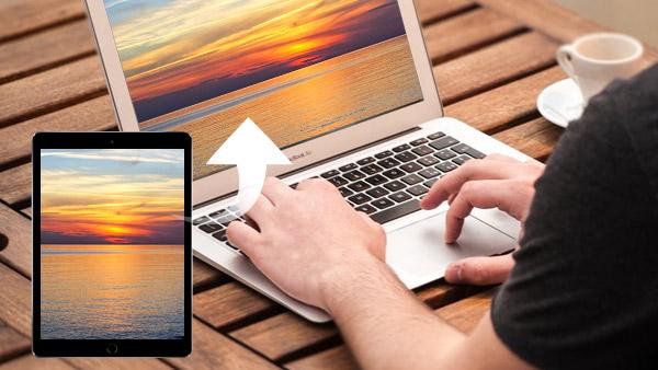 Synkroniser en iPad til datamaskinen