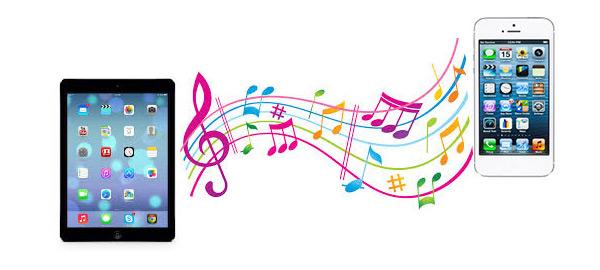 Synchroniser la musique