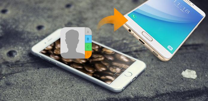 Kontakty iPhone do Androida