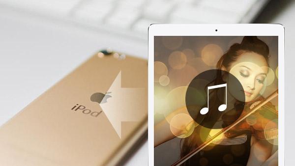 przesyłaj muzykę z iPada do iPoda