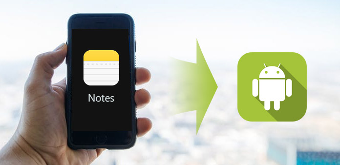 Transferir notas de iPhone a Android
