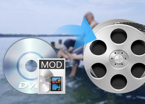 Convert MOD TOD to popular video and audio formats