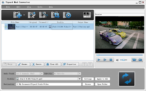 How to Convert Mod/Tod From JVC Camcorder Screenshot