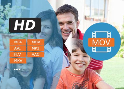 تحويل الفيديو MOV