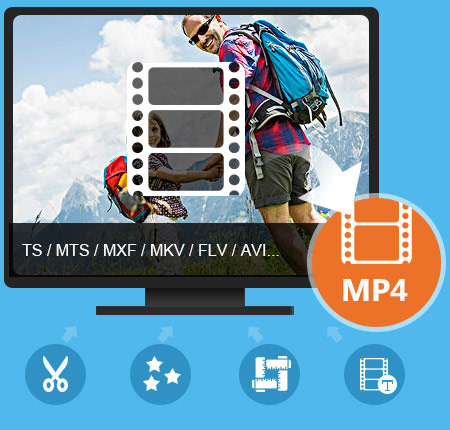 MP4 Video Converter til Mac