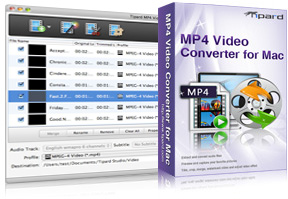 MP4 Video Converter for Mac Screen