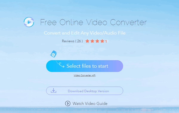 Apowersoft Zdarma Online Video Converter