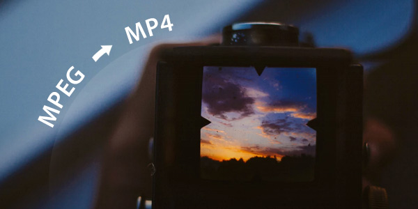 Mpeg to mp4 converter