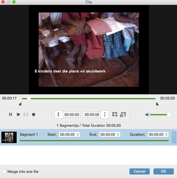clip la vidéo