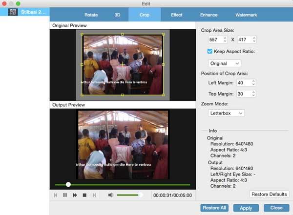 améliorer la qualité vidéo