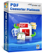 Tipard PDF Converter Platinum Box