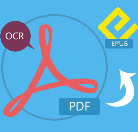 how to change pdf to epub