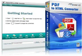 PDF to HTML Converter Screen