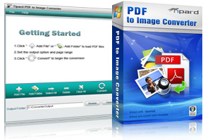 PDF to Image Converter Screen